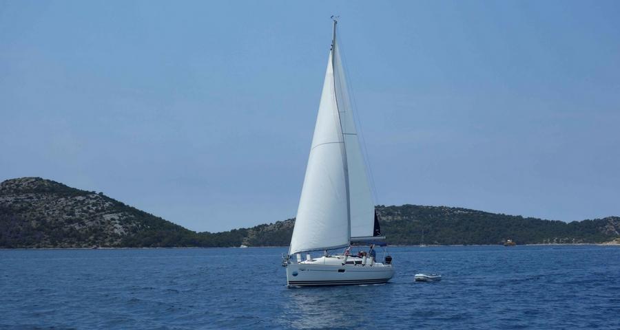 Segeln von Zadar nach Dugi Otok
