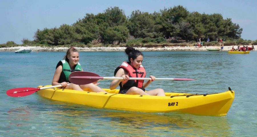 Wassersport Kamenjak Kajak Istrien