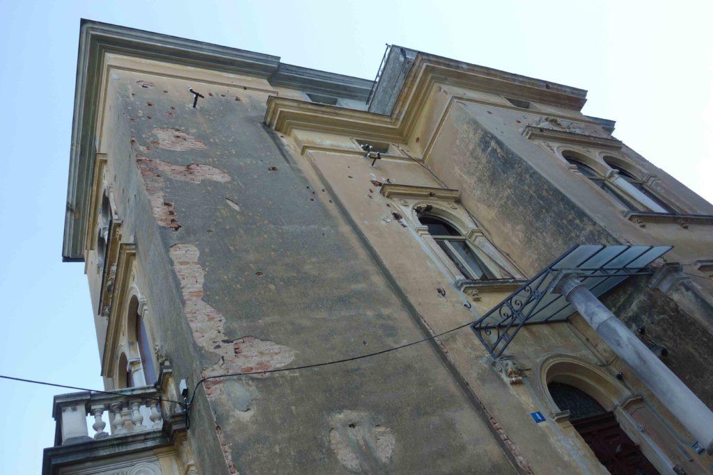 Verfallene Villa in Opatija