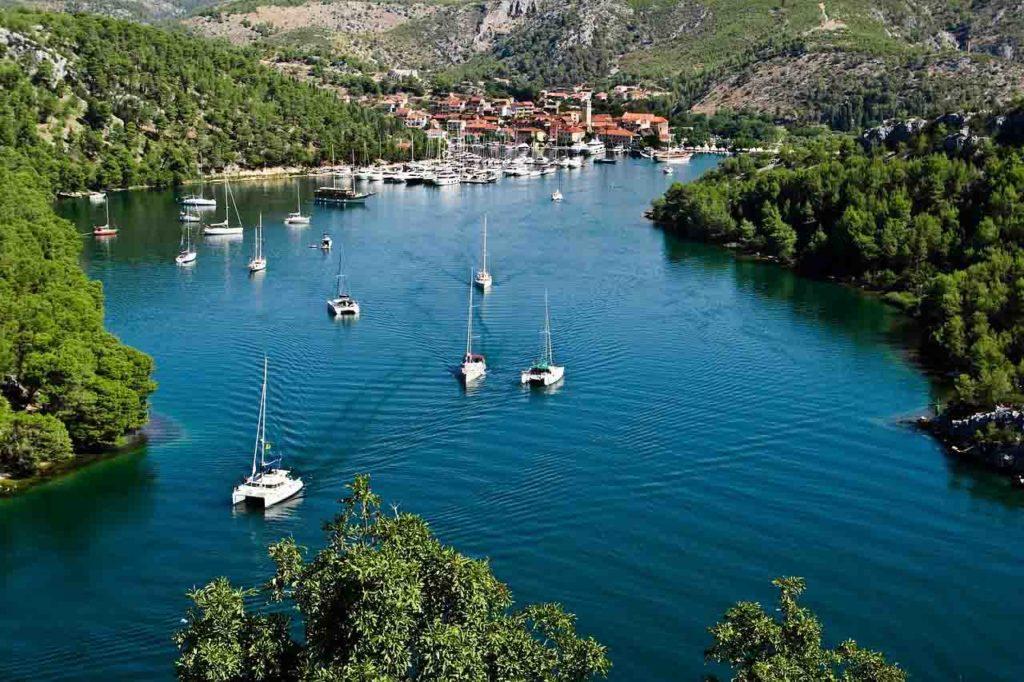 Bootfahren in Kroatien