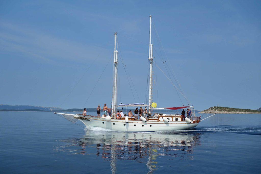 Segelboot Kroatien