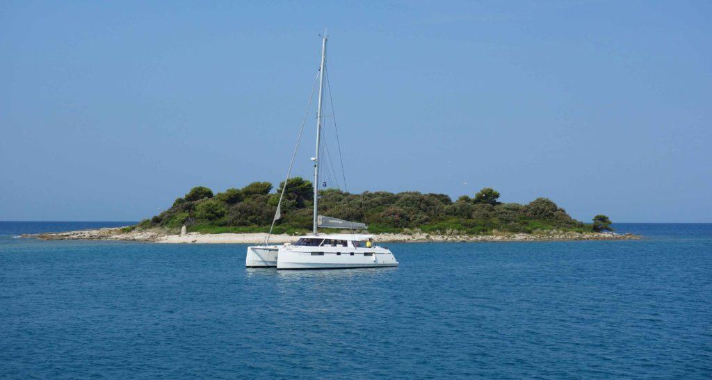 Segeln in Istrien