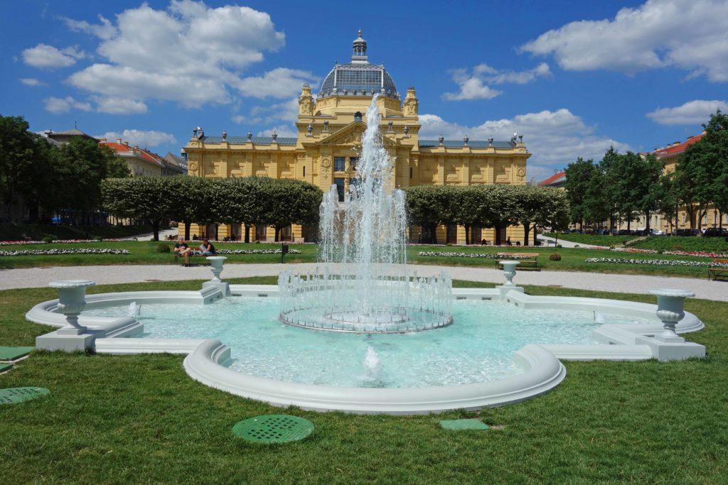 Kunstpavillon Zagreb Kroatien