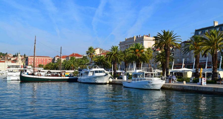 Städtetrips in Dalmatien Split
