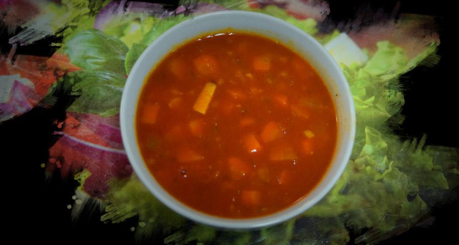 Kroatische Bohnensuppe