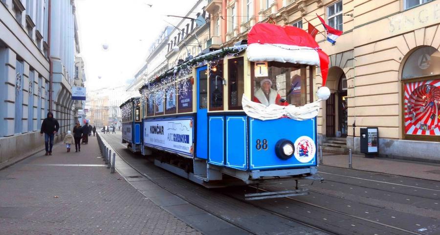 Straßenbahnen und Busse kostenlos an Wochenenden in Zagreb