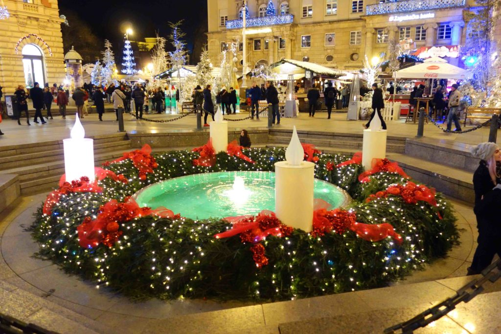 Weihnachtsmarkt in Zagreb