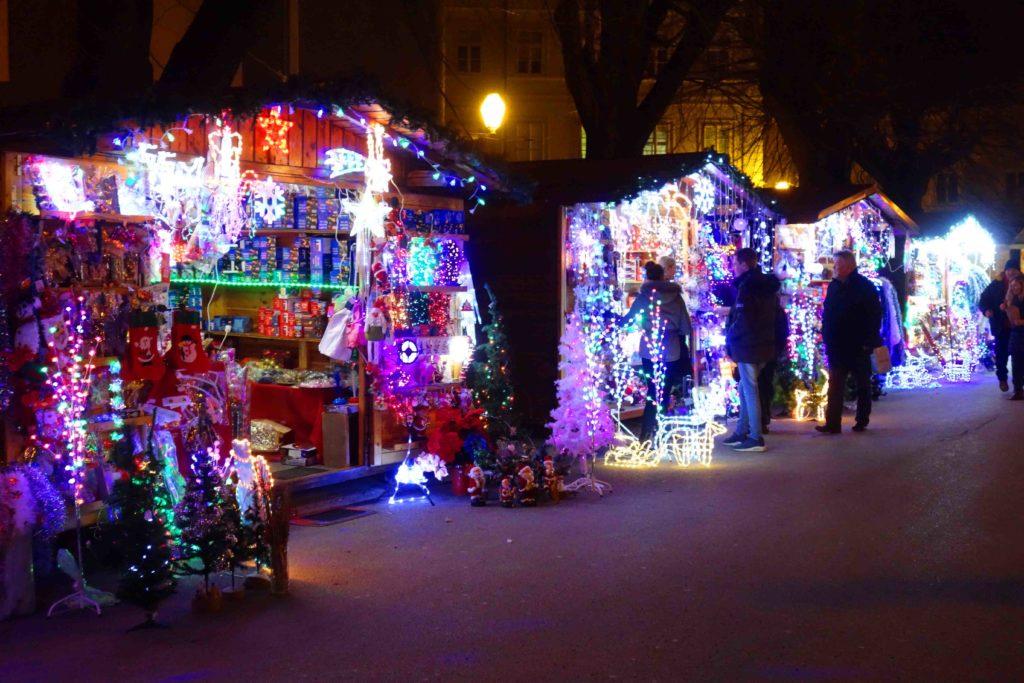 Weihnachtsmarkt in Varazdin