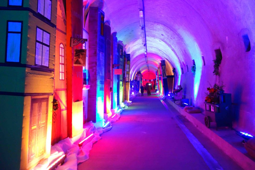 Advent in Zagreb 2017 Gric Tunnel