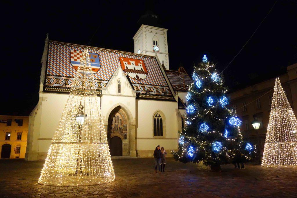 Kirche Sv Marka Zagreb Advent