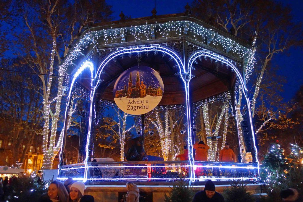 Advent in Zagreb Zrinjevac