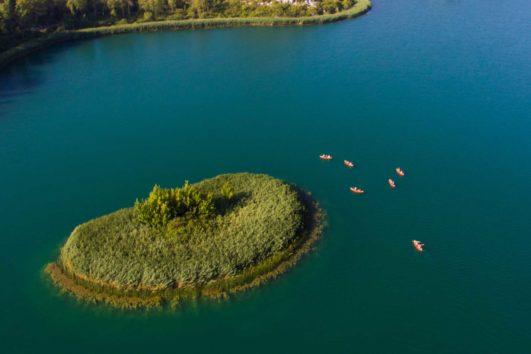Kayaking Bacina Seen Kroatien