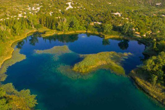 Bacina-Seen in Süddalmatien