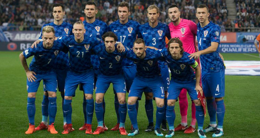 Kroatien bei der WM 2018