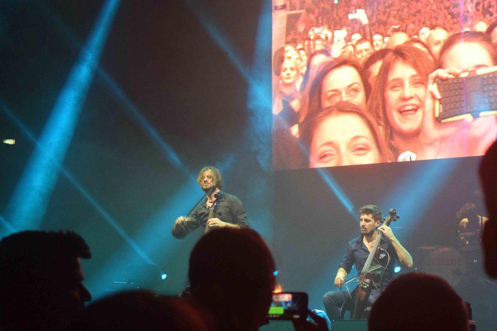 2CELLOS Konzert Arena Zagreb