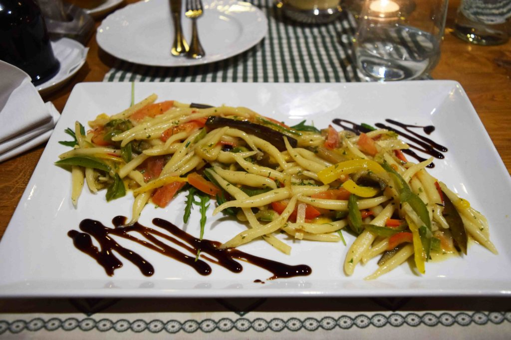 Vegetarisch essen in den Ethno Houses Plitvica Selo