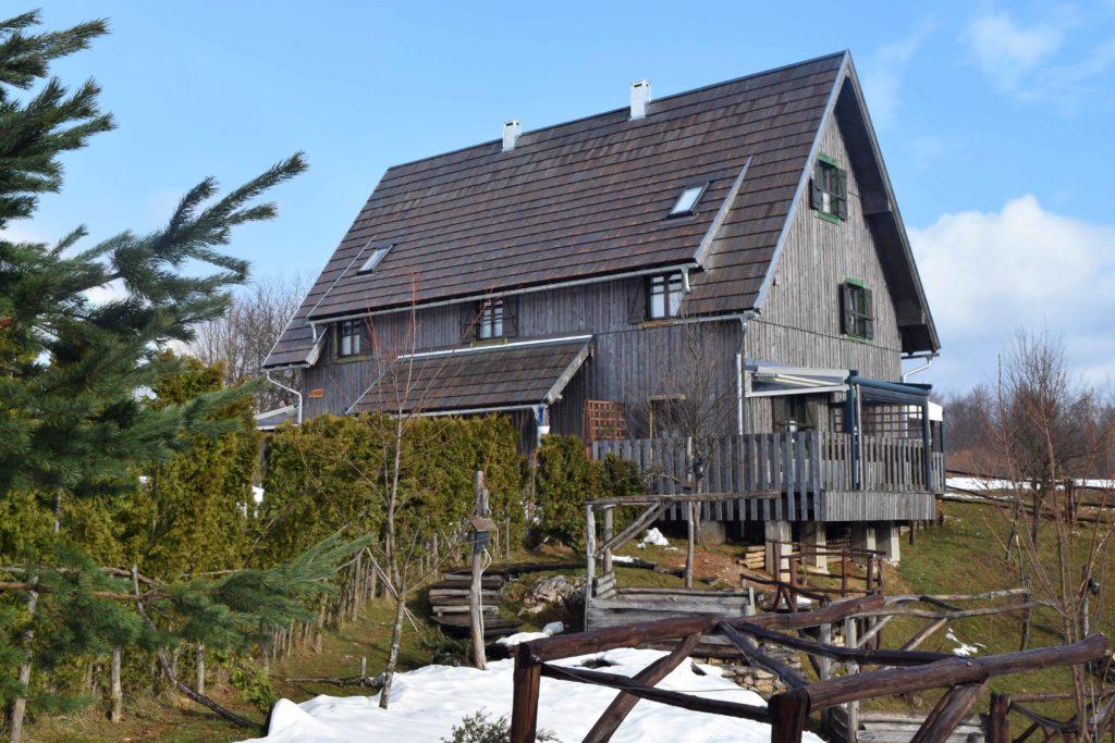 Holzhaus der Ethno Houses Plitvica Selo