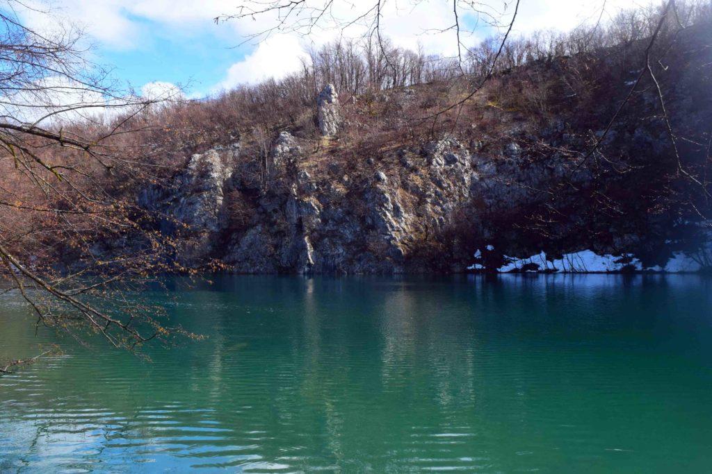 Plitvicer Seen im Winter