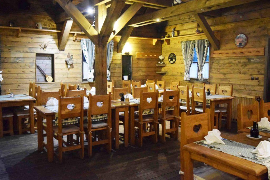 Restaurant der Ethno Houses Plitvica Selo