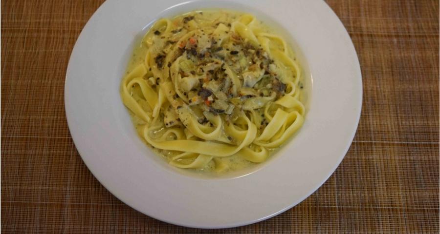 Istrische Pasta mit Trüffelsauce