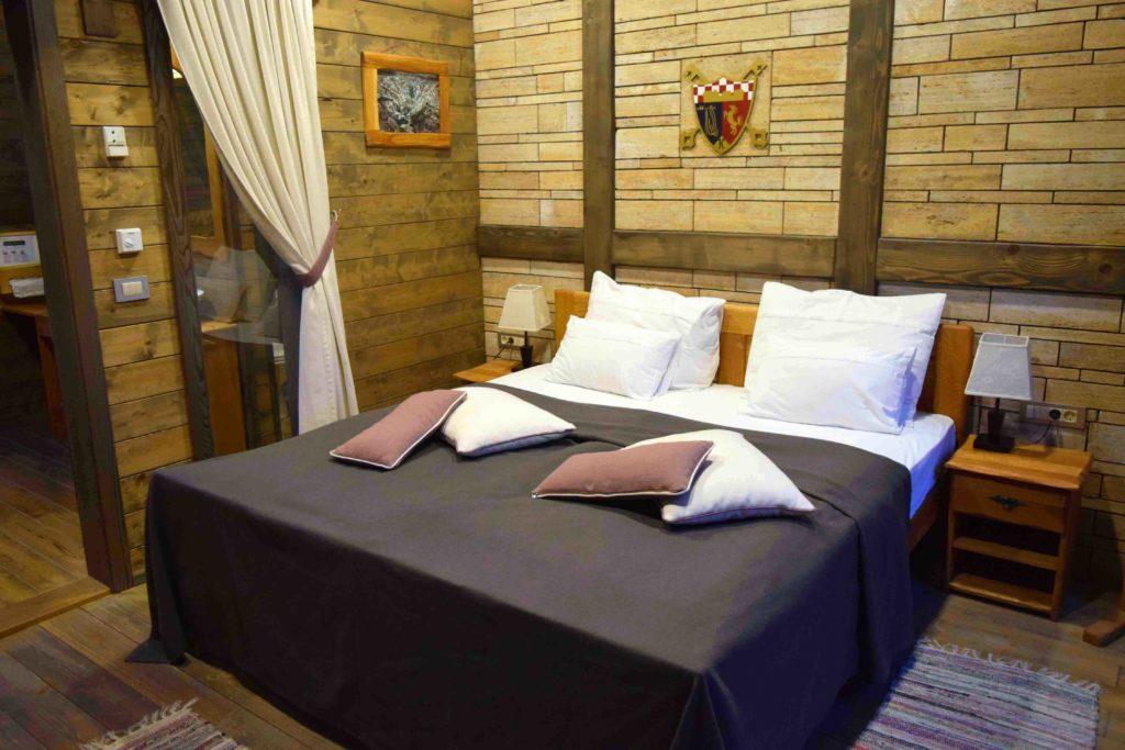 Doppelzimmer in den Ethno Houses Plitvica Selo