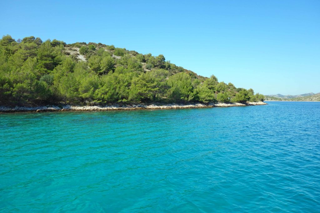 Sauberes Meerwasser Kroatien Adria
