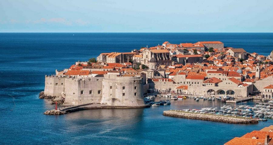 Filmkulissen in Kroatien Dubrovnik