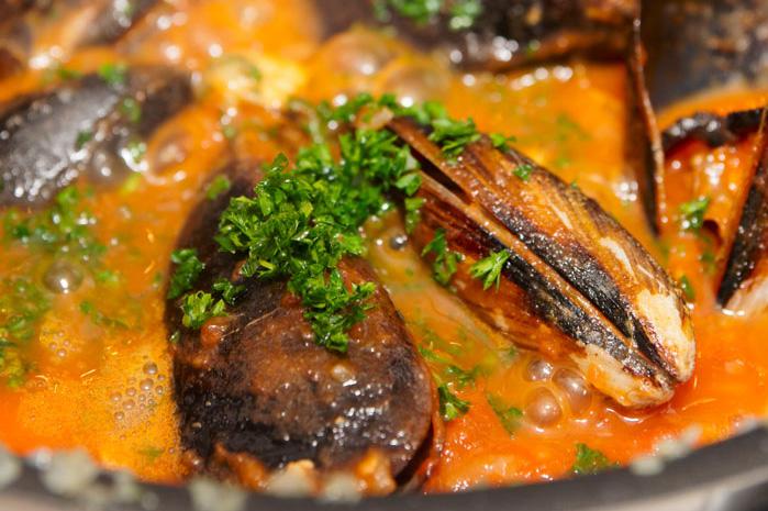 Kochkurs in Zadar Muscheln kochen