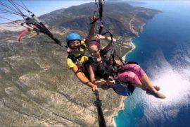 Paragliding in Kroatien
