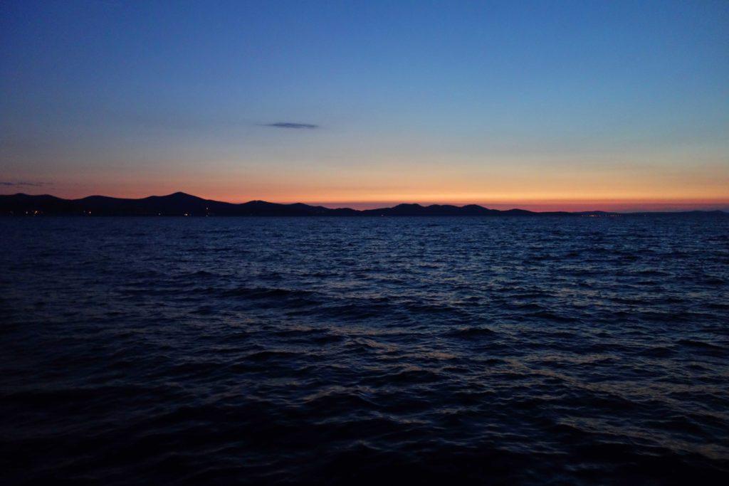 Zadar Sonnenuntergang Kroatien