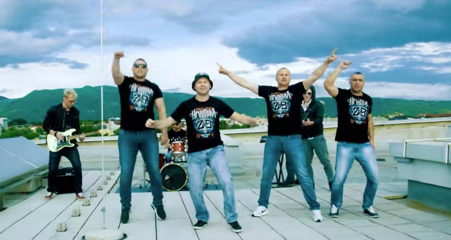 Kroatischer WM-Song von den Zapresic Boys