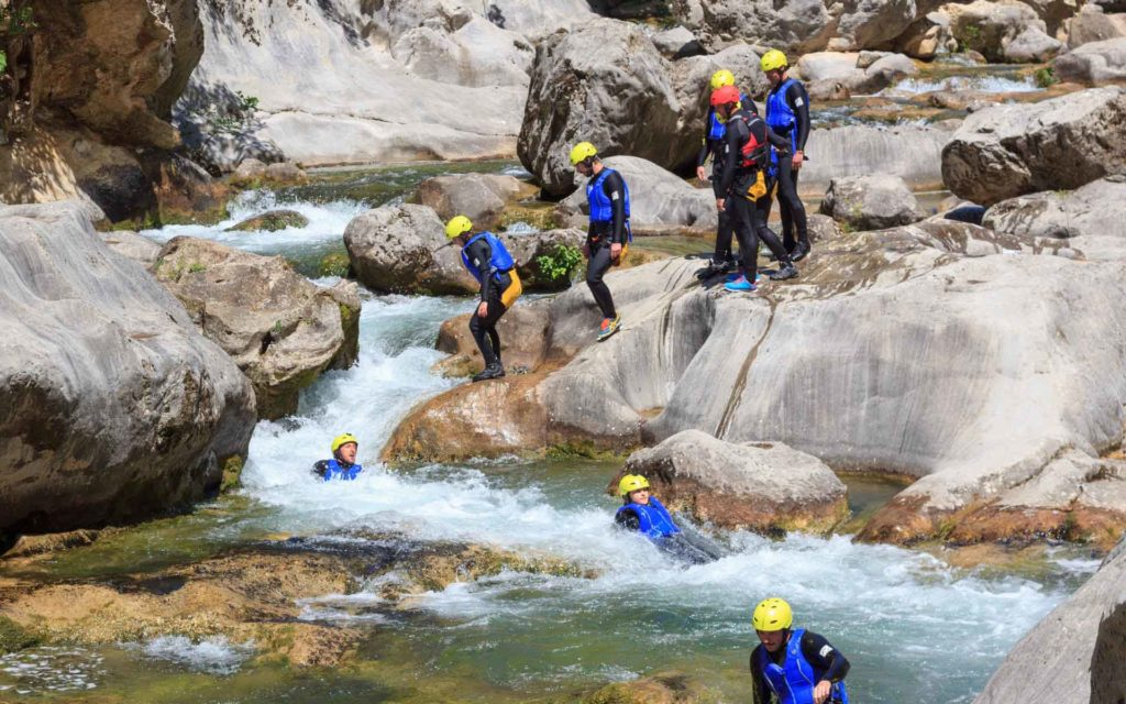 Canyoning Cetina Kroatien