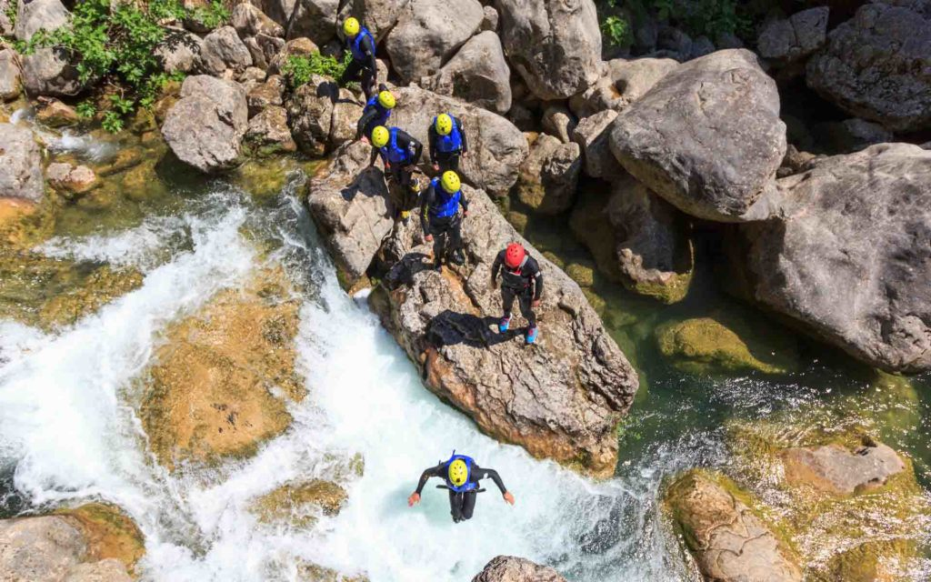 Extreme Canyoning Cetina Kroatien