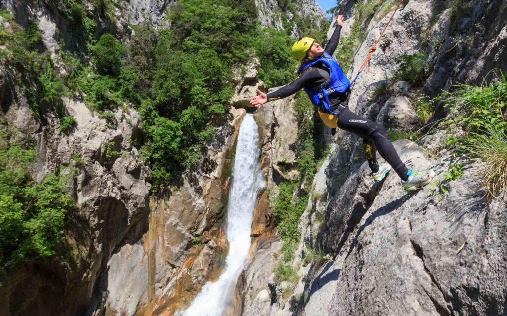 Abseilen Cetina Canyoning Kroatien