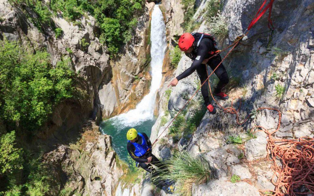 Extreme Canyoning Cetina