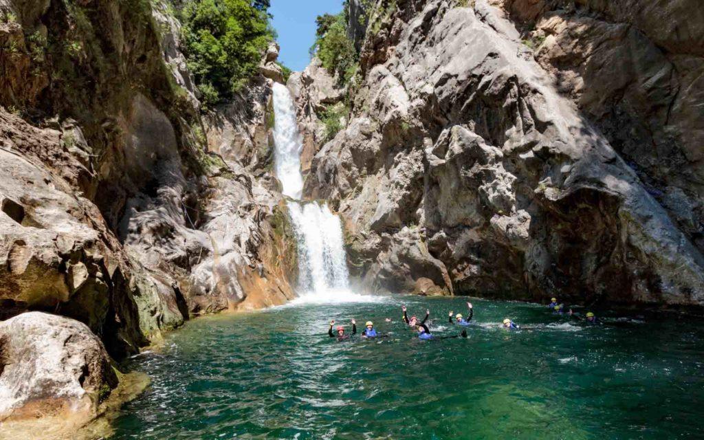 Basic Canyoning Cetina Kroatien