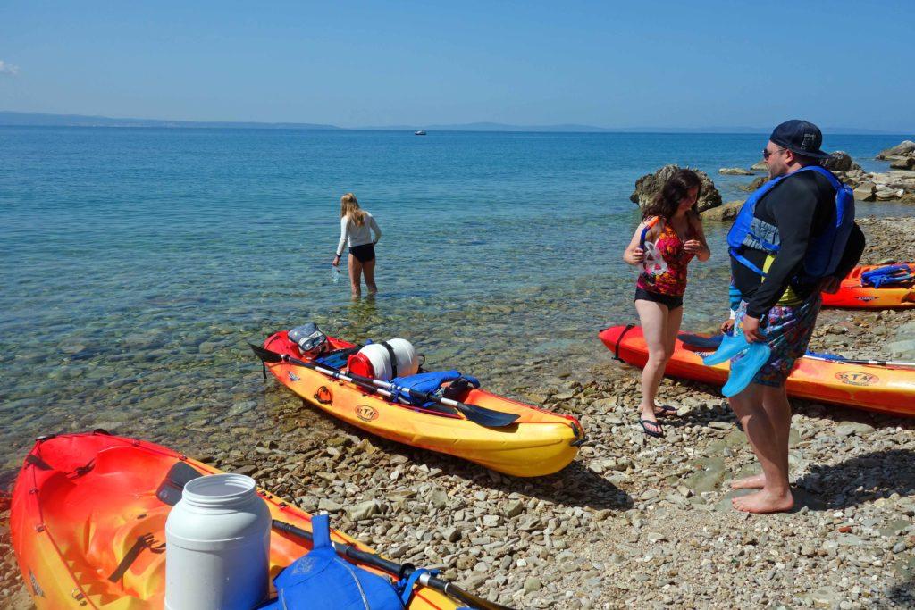 Kajaktour Split Kroatien