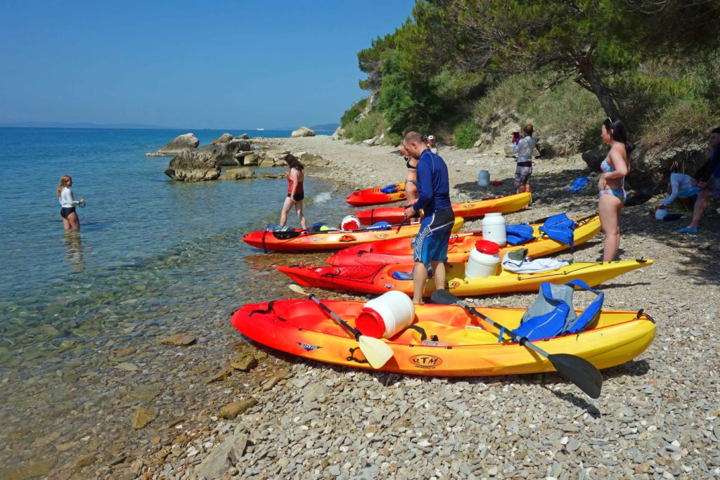 Kayaking Split Ausflug Kroatien