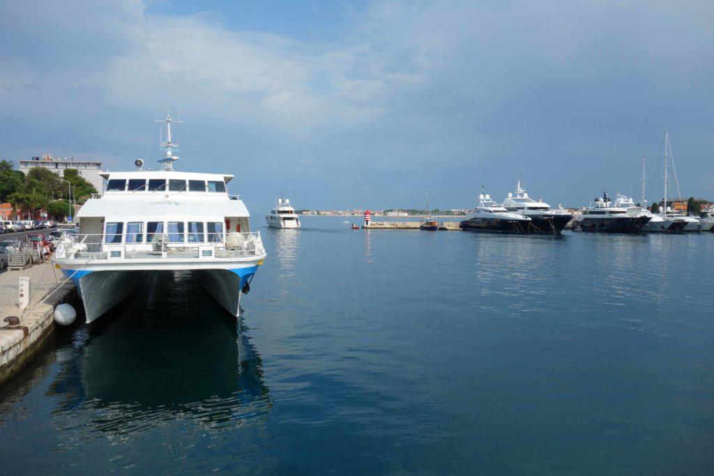 Stadthafen von Zadar