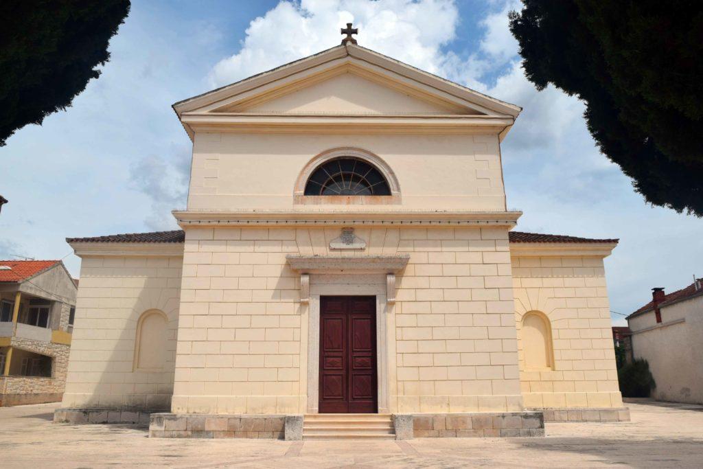 Kirche in Vela Luka auf Korcula
