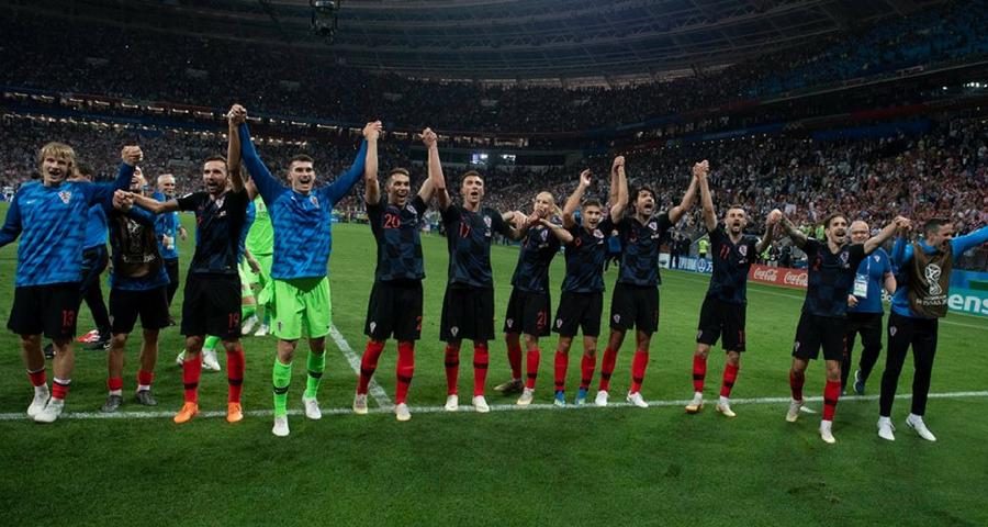 Kroatien im Finale WM 2018