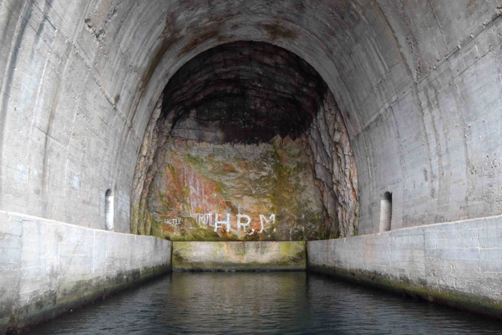 Militärtunnel auf Lastovo