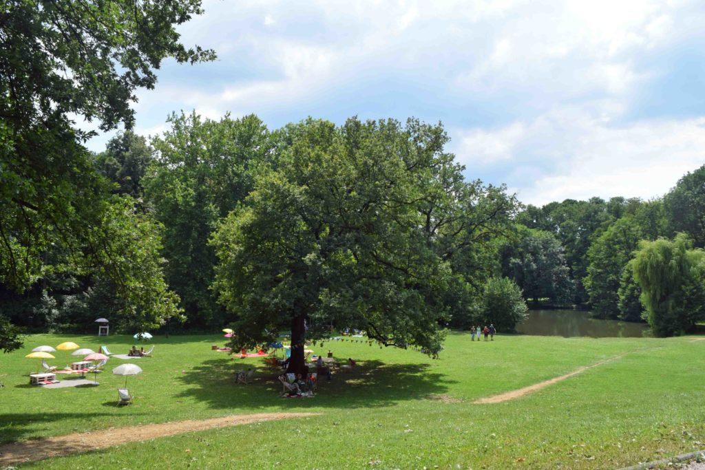 Picknicken im Park Maksimir Zagreb