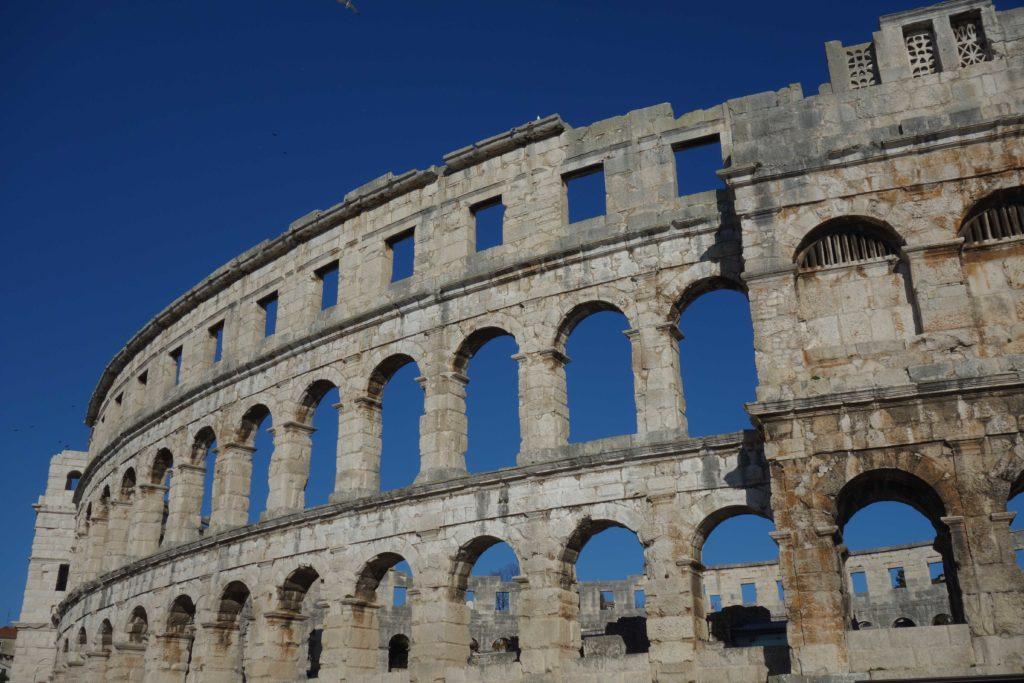 Amphitheater Pula Istrien