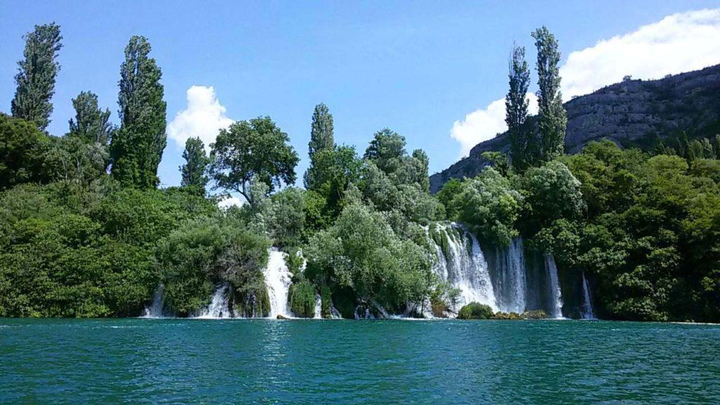 Roski slap Krka Nationalpark