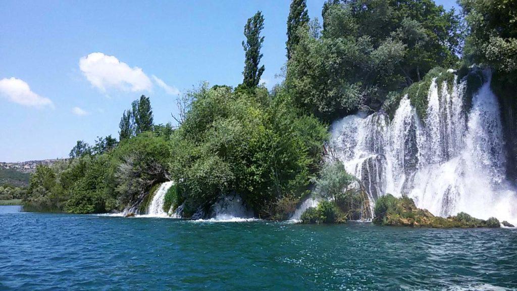 Roski Slap Krka Wasserfälle