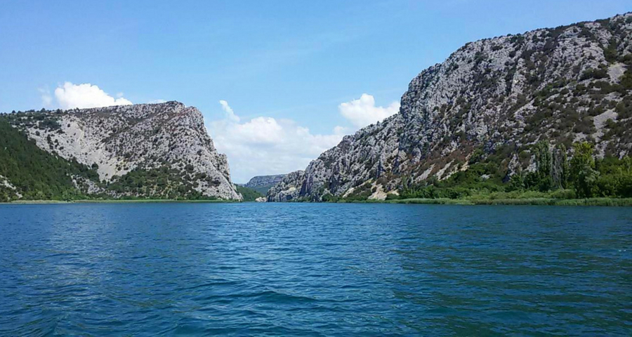Bootstour im Krka Nationalpark