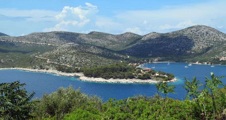 Insel Lastovo Kroatien