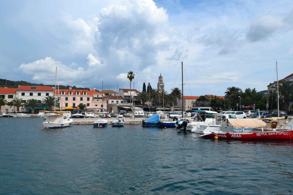Vela Luka Korcula Hafen