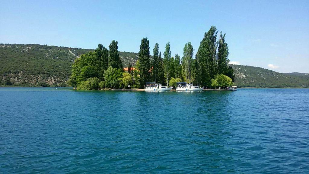 Insel Visovac Kroatien